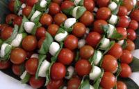 Cucumber, Tomato, Basil