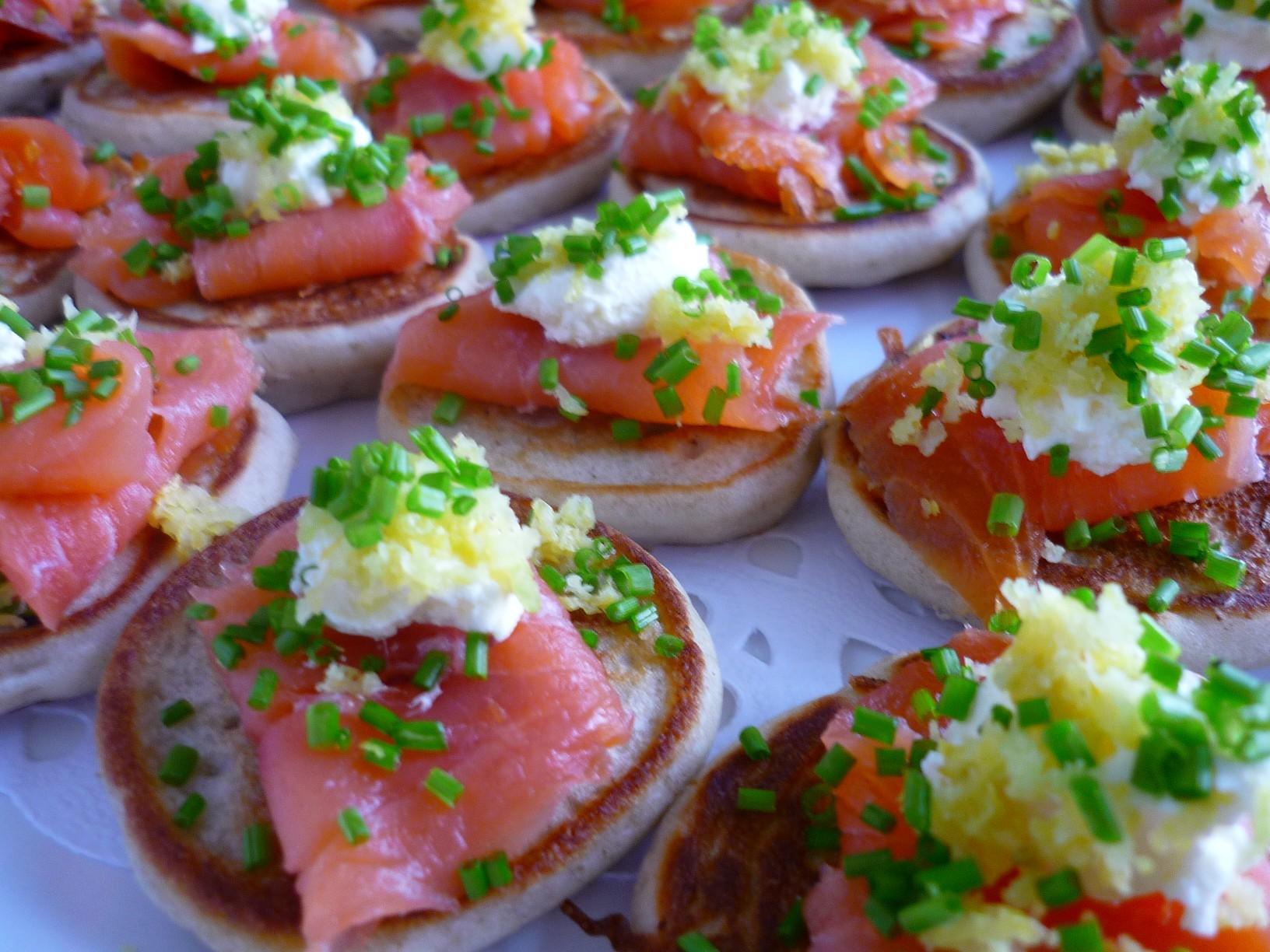 Smoked Salmon Pikelet